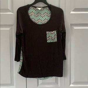 Charming Charling's 3 quarter sleeve shirt